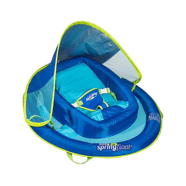 Swimways Infant Baby Spring Float With Canopy
