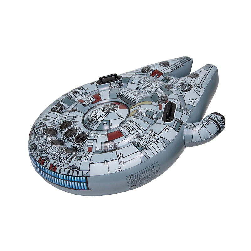 DISCONTINUED 2019 Swimways Star Wars Millennium Falcon Ride On Pool Float