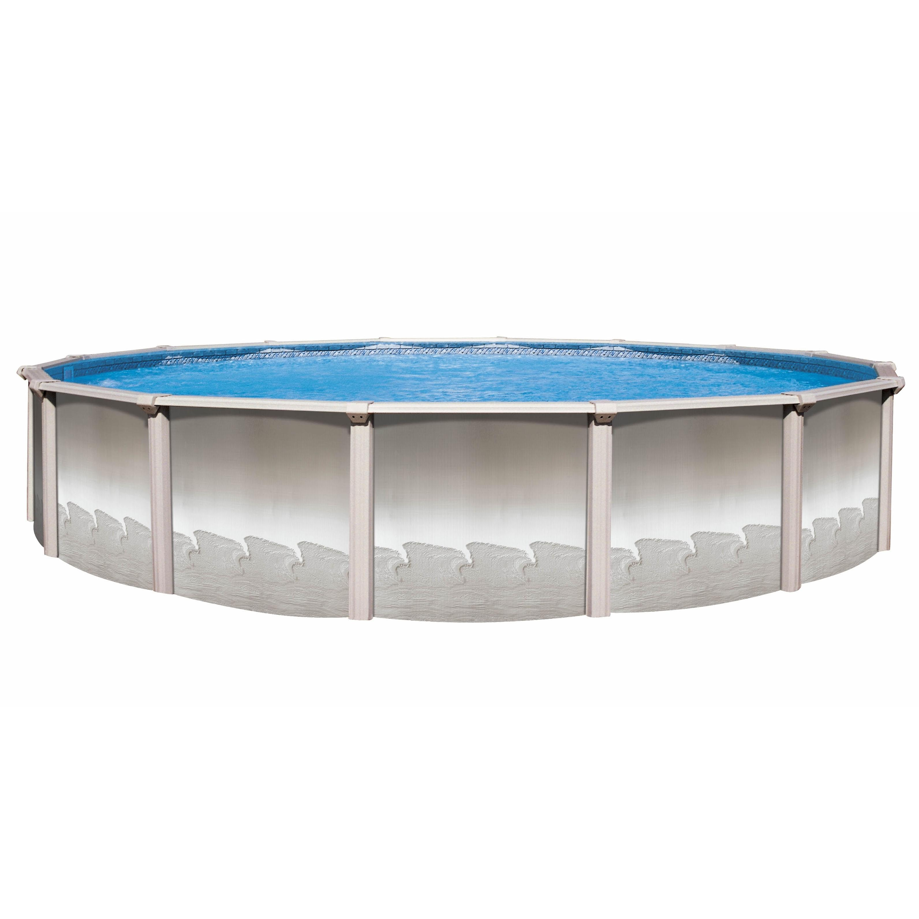 12 Ft Round Imperial Above Ground Pool With 52 Inch Chateau Wall Pool Supplies Canada
