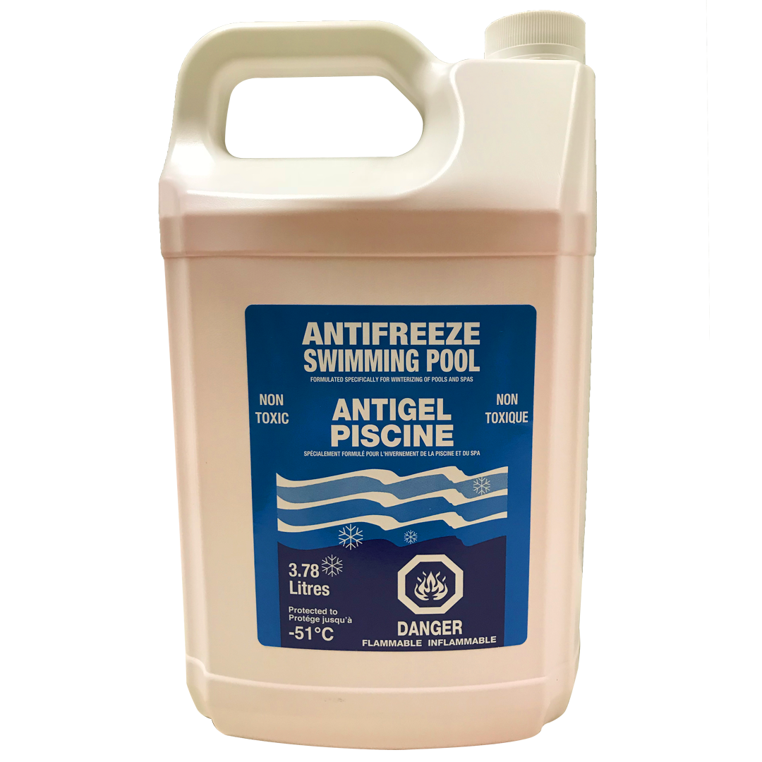 Winterizing Antifreeze for Swimming Pools and Hot Tubs (3.78 L)
