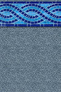 Aspen Creek 15 X 30 Ft Oval Beaded Liner 48 Inch Standard