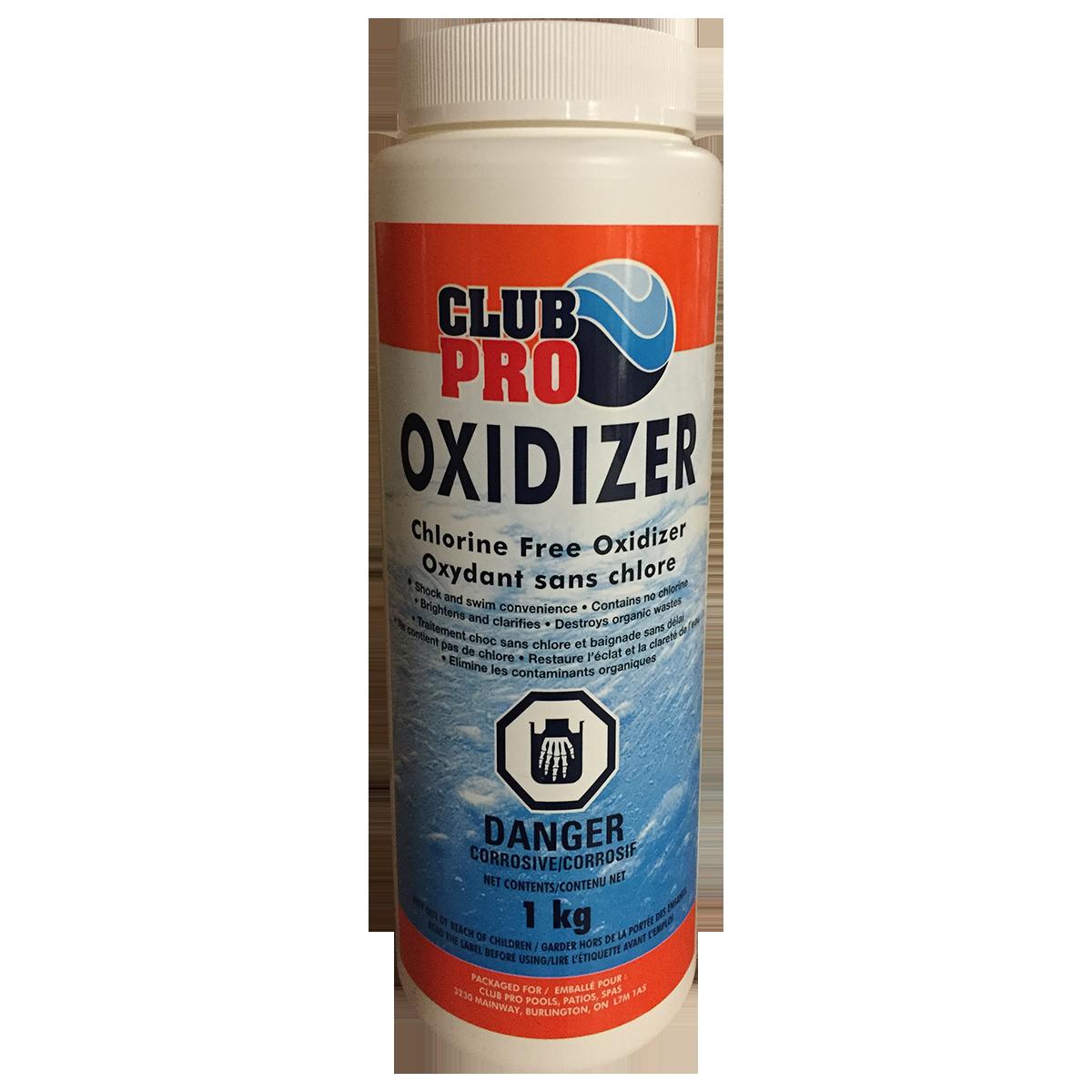 Traitement choc oxidizer sans chlo magasin de piscine for Club piscine toile solaire