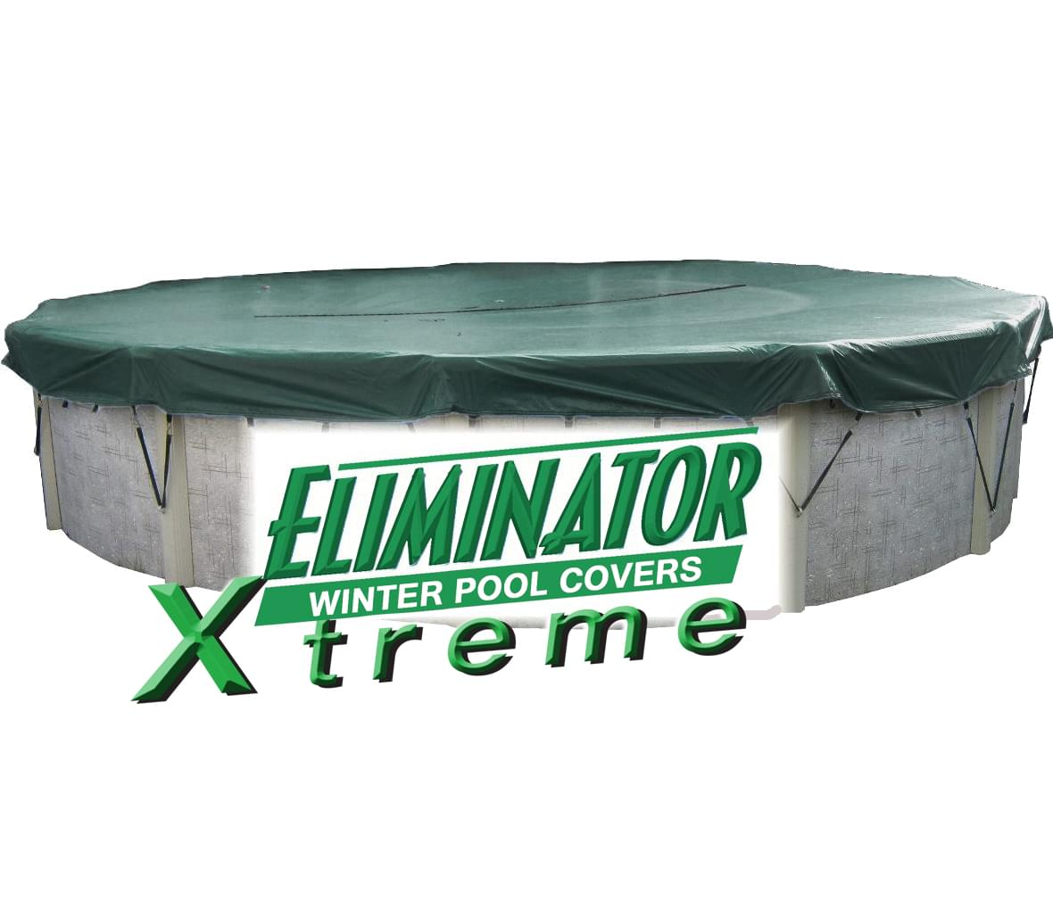 18 Round Eliminator Xtreme Pool Winter Cover Pool