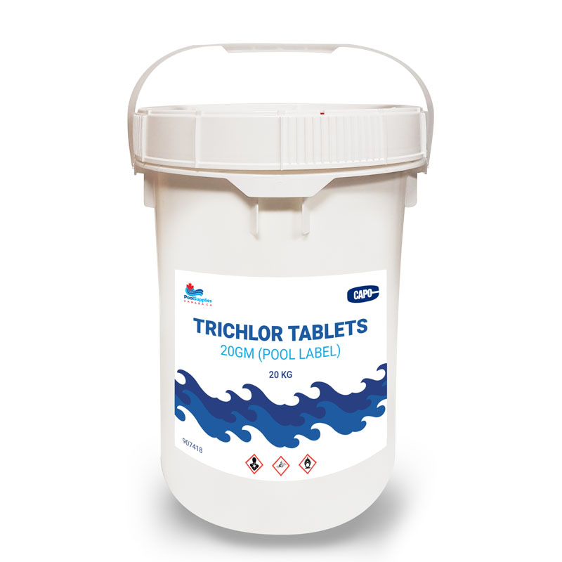 20 Gram Trichlor Tablets (20 Kg Commercial Size Pail)