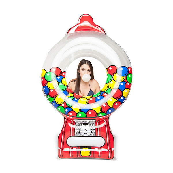 Giant Gumball Machine Ride-On Pool Float