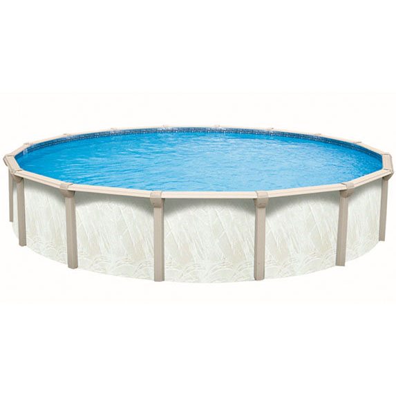 15 Ft Round J1000 Above Ground Pool With 52 Inch Iris Wall