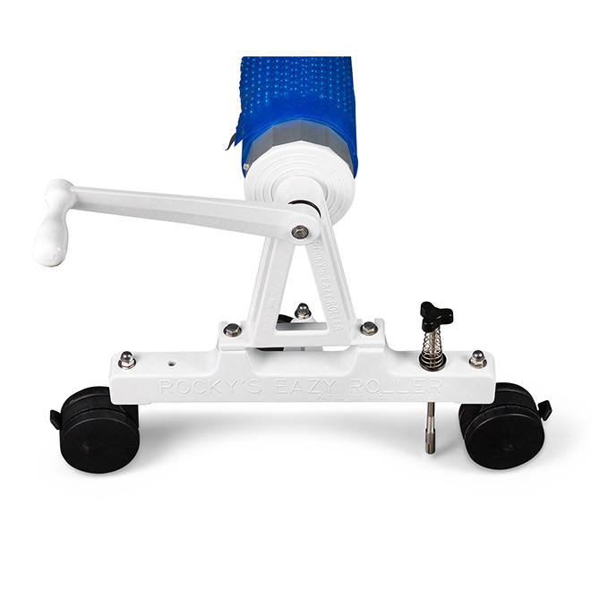 Rocky's Senior Commercial Solar Roller System with 28 Ft Long 4 Inch Tube