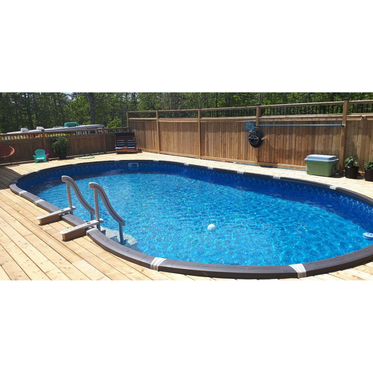 Element 18 X 33 Oval Above Ground Pool Pool Supplies Canada
