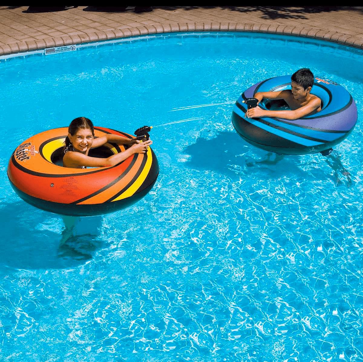 Power Blaster Dual Pool Float Squirter Set