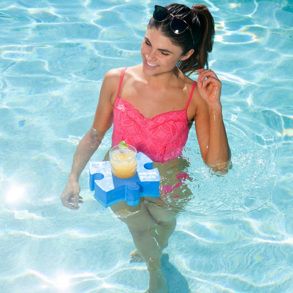 Drink Dock Holder and Pool Float