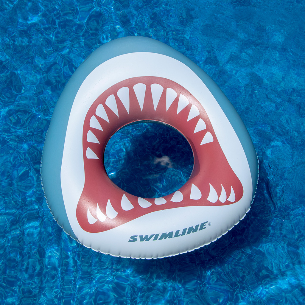 Kids Shark Mouth Float Swim Ring