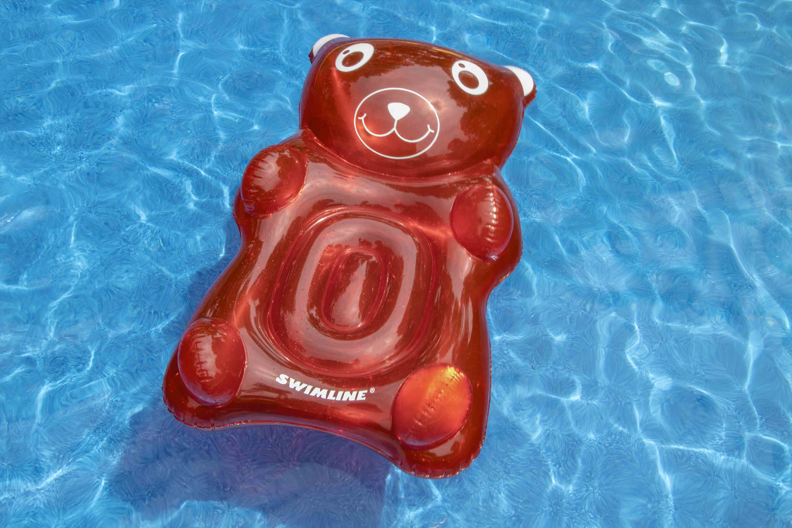 Kids Gummybear Ride-On Pool Float