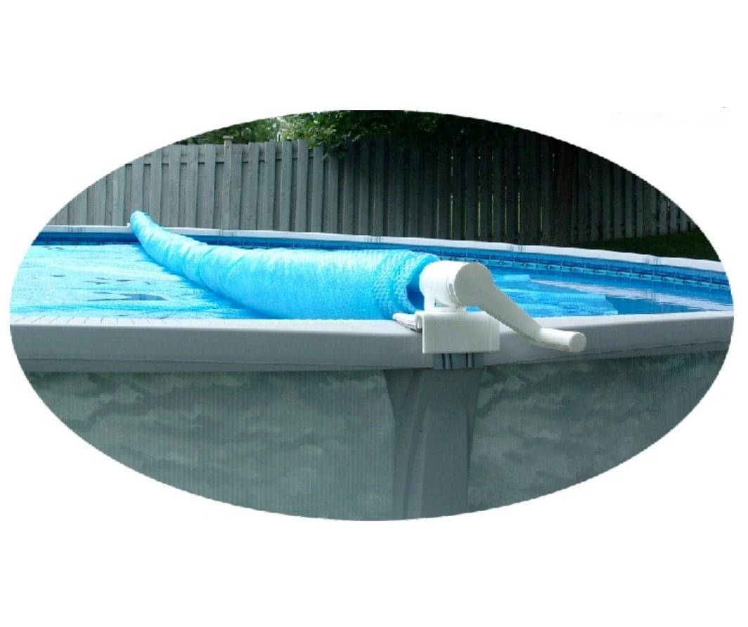 Feherguard solar cover roller tube up to 24 ft pool for Pool accessories