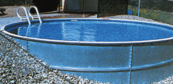 Eternity 12 X 22 Ft Kidney Semi Inground Complete Pool