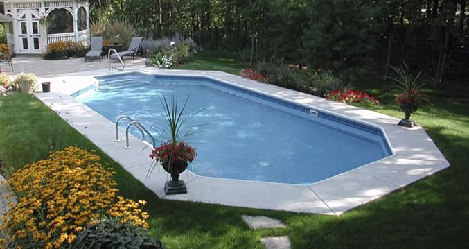 14 X 28 Ft Grecian Inground Pool Complete Package