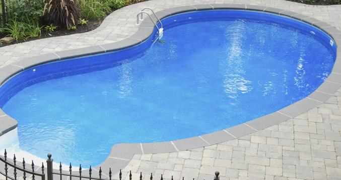 18 X 34 Ft Kidney Inground Pool Complete Package