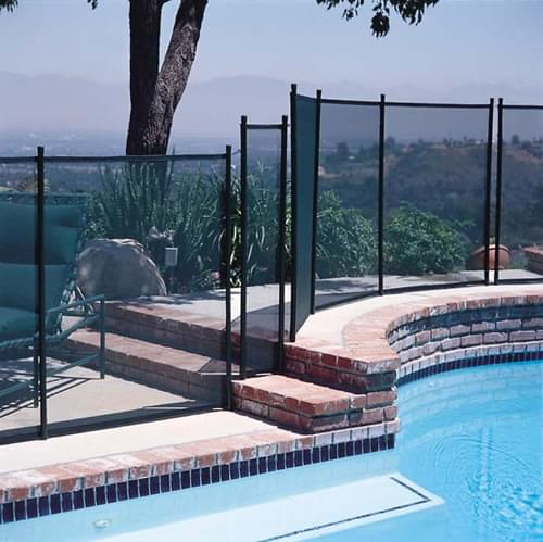 poteau de soutien de 4 pieds noir magasin de piscine canada. Black Bedroom Furniture Sets. Home Design Ideas