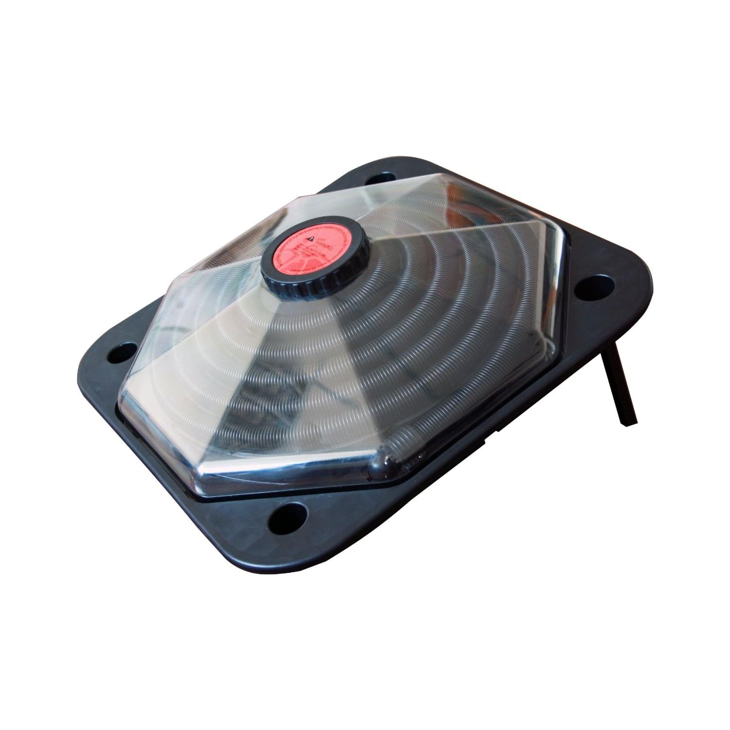 Solar dome swimming pool heater pool supplies canada for Chauffe piscine solaire