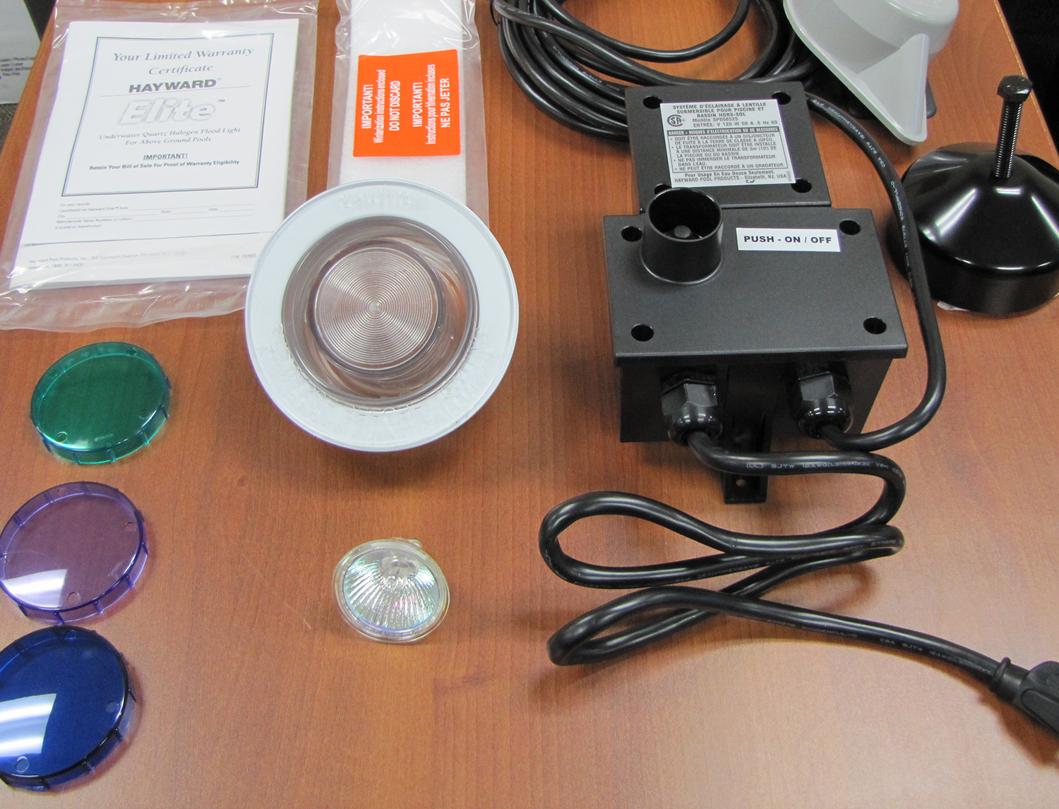 Hayward Underwater Light For Above Ground Pools Pool