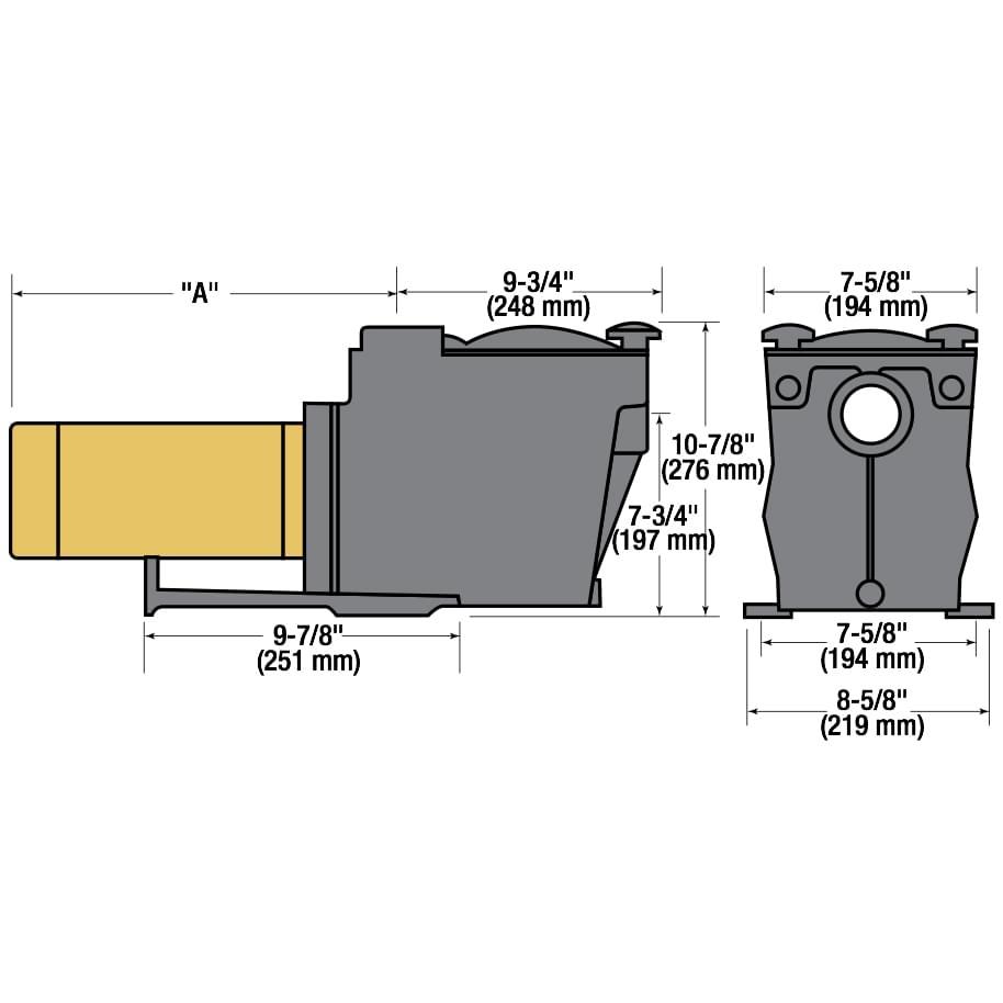 Hayward Super Pump 1 Hp Inground Pool Supplies Canada Clarke Spa Wire Diagram
