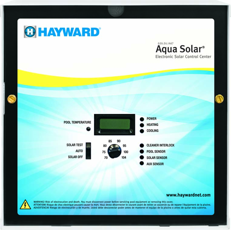 hayward aqua solar pool control pool supplies canada. Black Bedroom Furniture Sets. Home Design Ideas