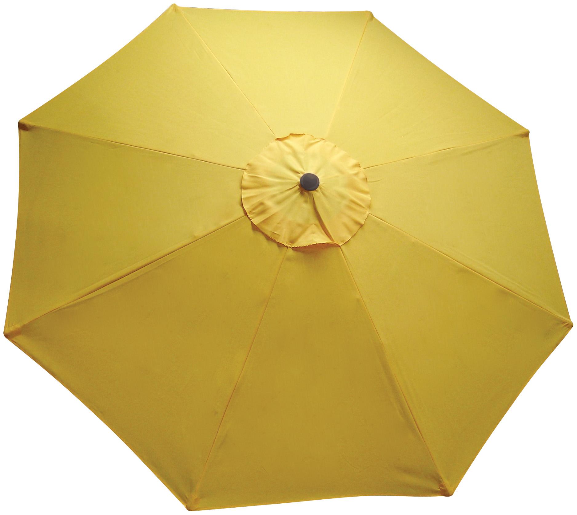 9 Ft Market Umbrella Moka Yellow Pool Supplies Canada