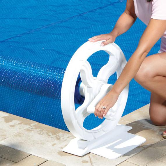 Syst me moulinet hydro pr magasin de piscine canada Rouleau toile de piscine