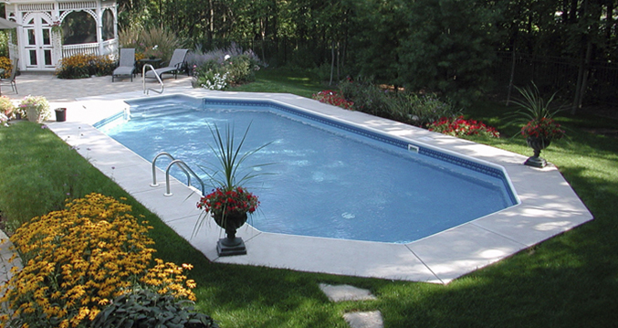 14 X 28 Ft Grecian Inground Pool Com Pool Supplies Canada