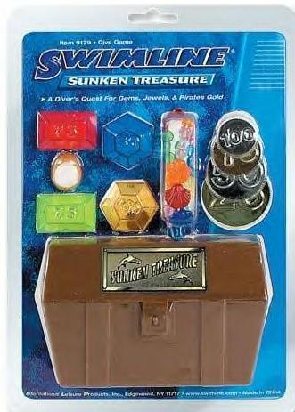 Sunken Treasure Pool Hunt Game