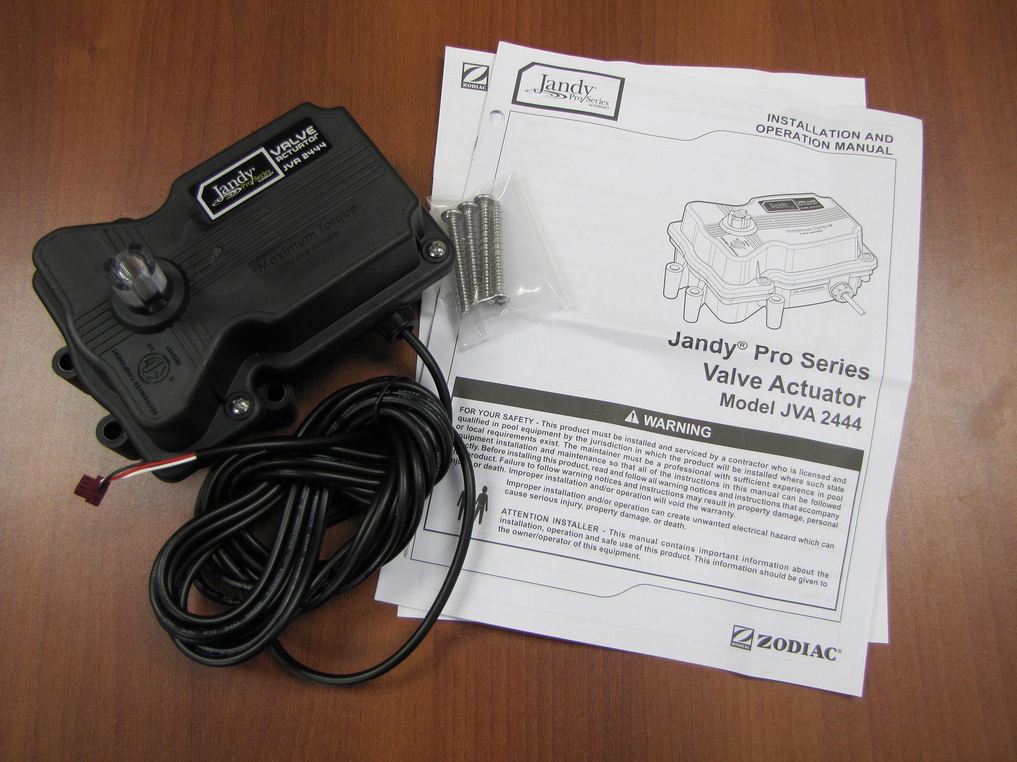 Jandy Valve Actuator Installation And Operation Manual Nemetas Wiring Diagram 5