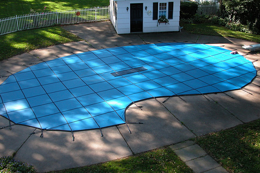 Blue Cantar Inground Pool Safety Cover