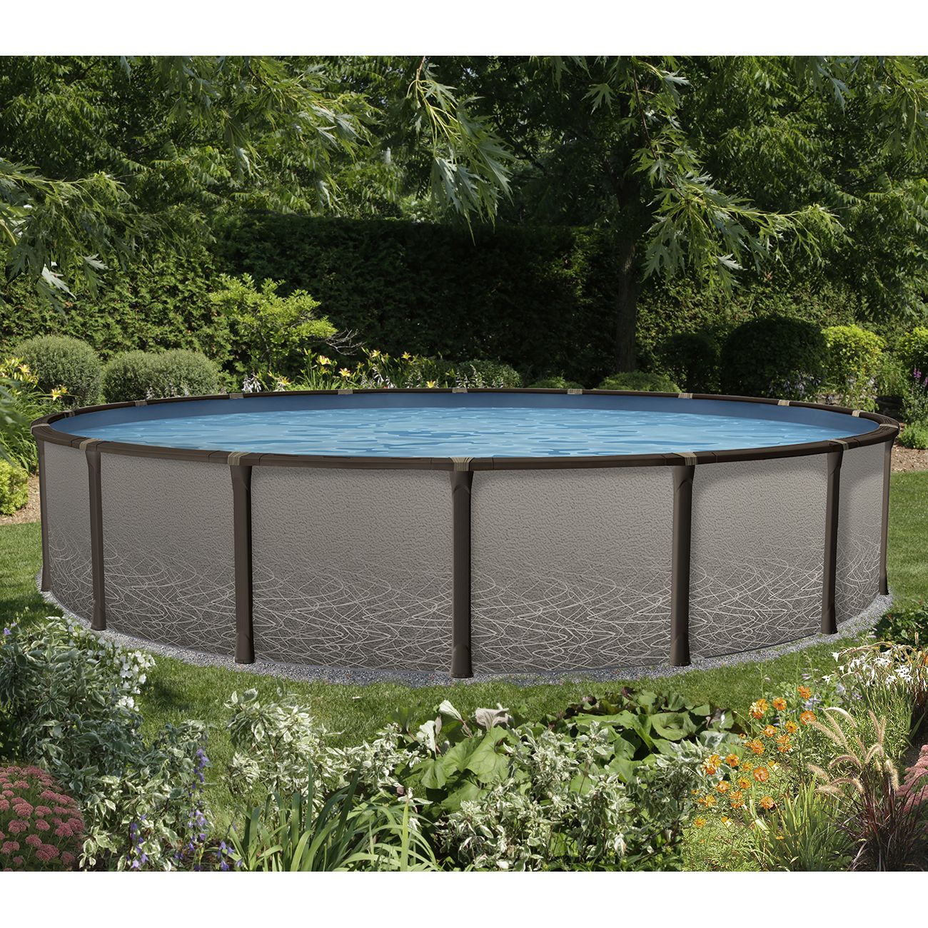 Element 18 round above ground pool pool supplies canada for Above ground pool equipment