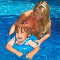Anneau d'Entraînement Swim-Tee de Swimline (Bleu)