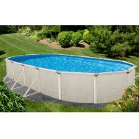 Evolution 18 x 33 ft Oval Above Ground Pool