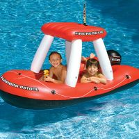 Fireboat Super Squirter Pool Float