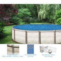 Creation 16 x 26 ft Oval Above Ground Pool Custom Package