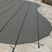 14 x 28 ft Rectangle Safety Cover Sunshade 99 Mesh