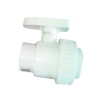 1.5 inch Precision PVC Ball Valve with Female Threaded Connections