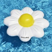 Daisy Flower Pool Float Ring and Ball Combo Set