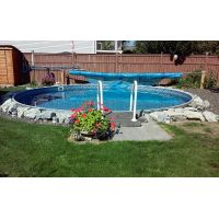 Eternity round pool supplies canada for Piscine 21 pieds litres