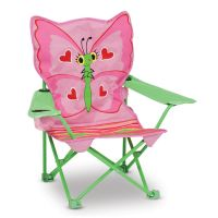 Melissa & Doug Bella Butterfly Child's Outdoor Chair