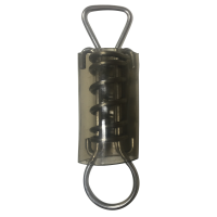 Safety Cover 5 Inch Shortened D-Ring Spring (Bag of 5)