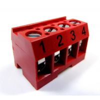 Zodiac 6609 - Terminal Bar Connector 4 Pin Red Aqualink Rs