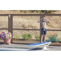 S.R. Smith 8 ft TrueTread Diving Board (Radiant White / Grey)