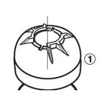 Zodiac W15250 - Cap Replacement (Grey)