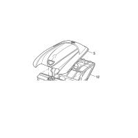 Polaris - R0543900 - Cover Kit Complete (White)
