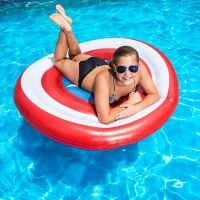 Swimways Marvel Oversized Inflatable Shield Float