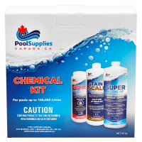 Pool Supplies Canada Premium Pool Chemical Kit (Up to 100,000 Litres)