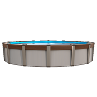 27 ft Round Contempra Above Ground Pool