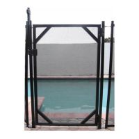 GLI Gate and MagnaLatch Kit for Inground Safety Pool Fence